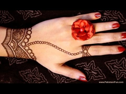 Mehndi Patterns For Little Girls : Easy henna mehndi designs that you can draw yourself listaka