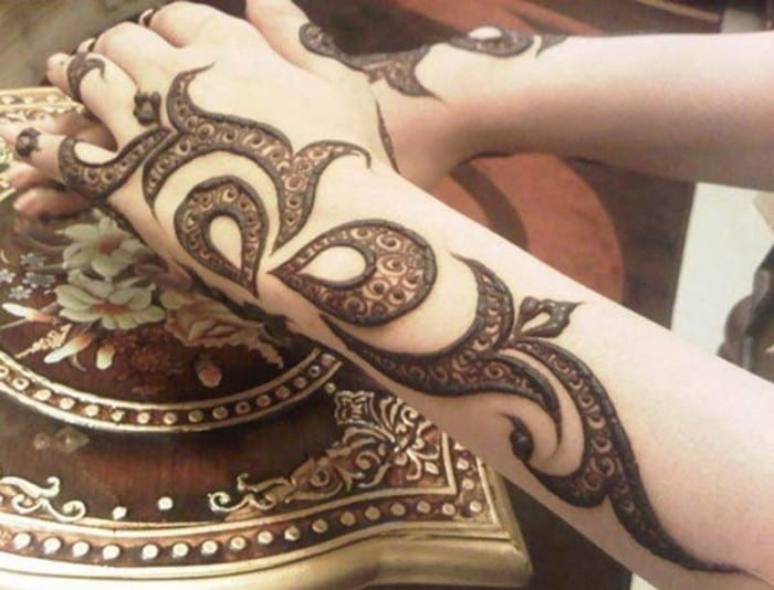 Mehndi Patterns Images : Easy henna mehndi designs that you can draw yourself listaka