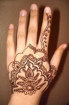 How to do henna designs design and house design propublicobono 30 easy henna mehndi designs that you can draw yourself aka solutioingenieria Image collections