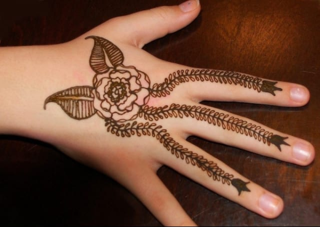 Easy Mehndi Designs Hands : 30 easy henna mehndi designs that you can draw yourself listaka