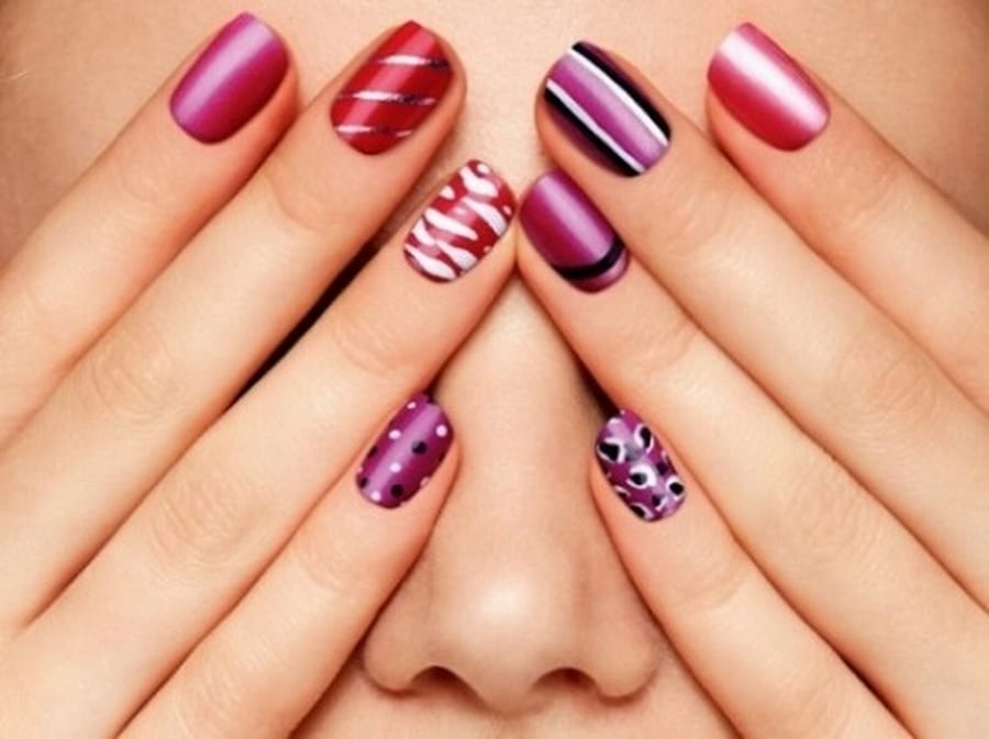 30 Easy and Unique Nail Art Ideas and Designs - Listaka