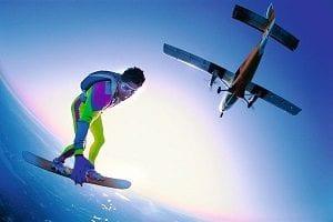 sky-surfing