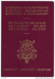 9_Belgian Passport