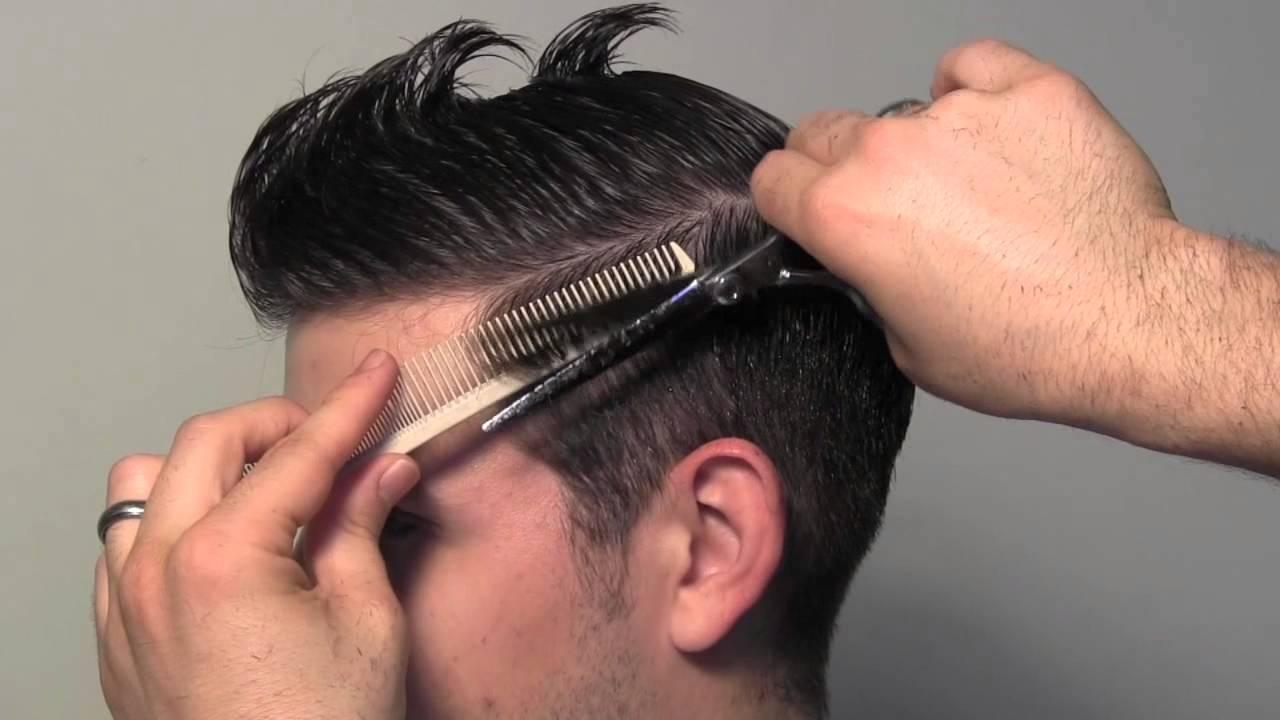 Stylish hair cutting for man