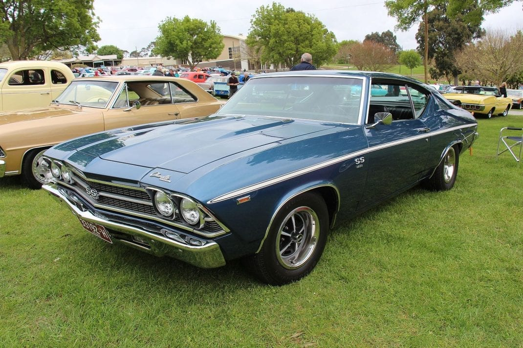5 Timeless Muscle Cars - Listaka