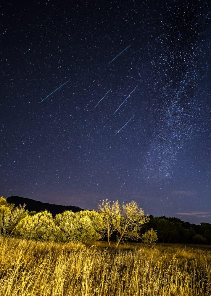 brightest meteor shower