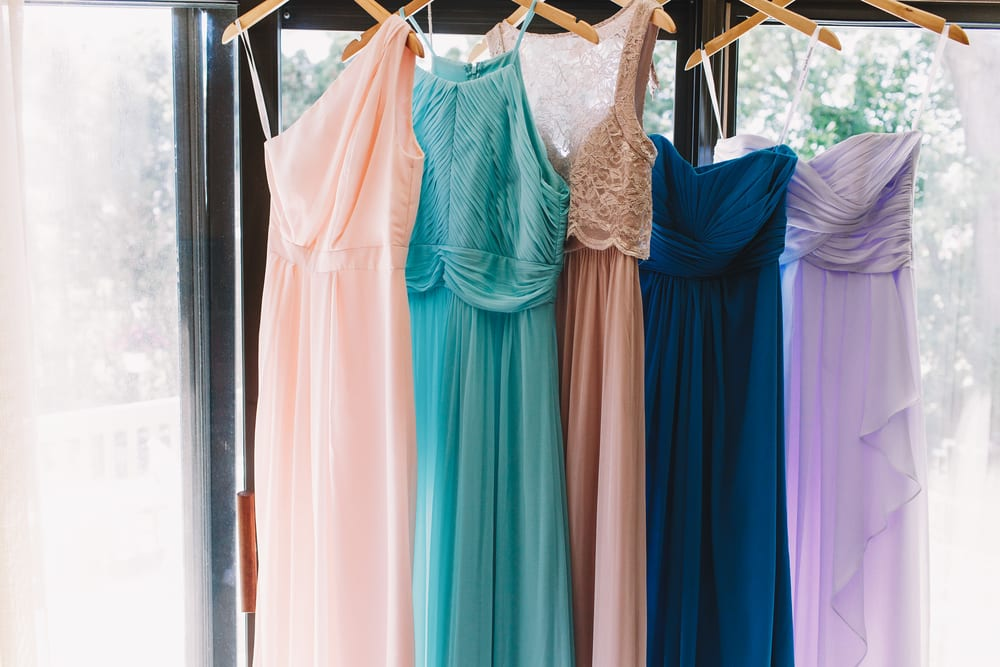 Best Tips for A wedding on a Budget: buy ready made dresses