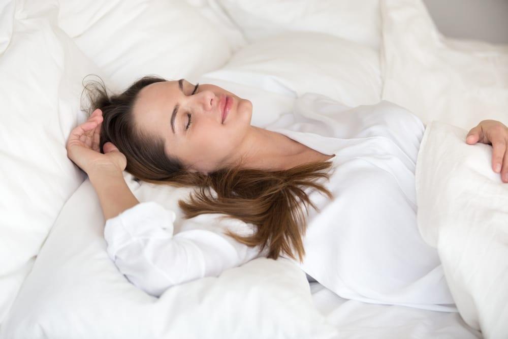 Ways to Eliminate Eye Bags: Change your sleep posture