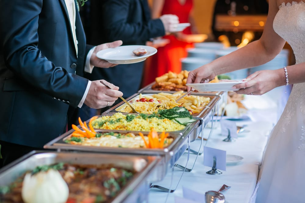 Best Tips for A wedding on a Budget: do the catering