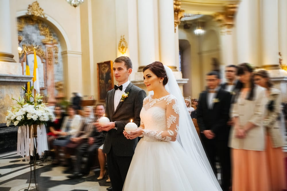 Best Tips for A wedding on a Budget: planning to do the wedding in your church