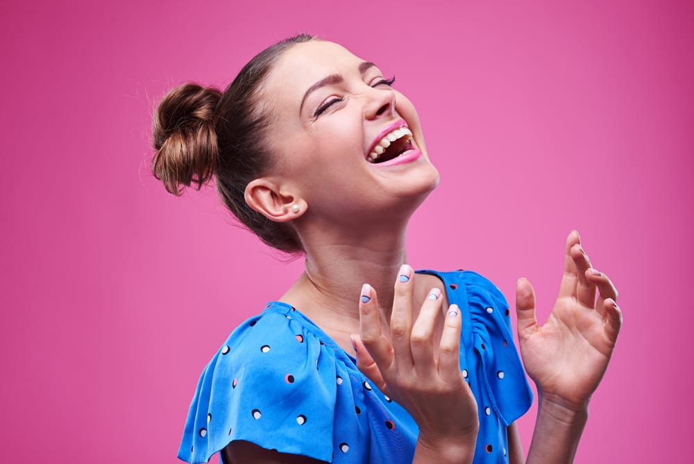 Why Laughing Out Loud is Best For You: laughter can make you feel young