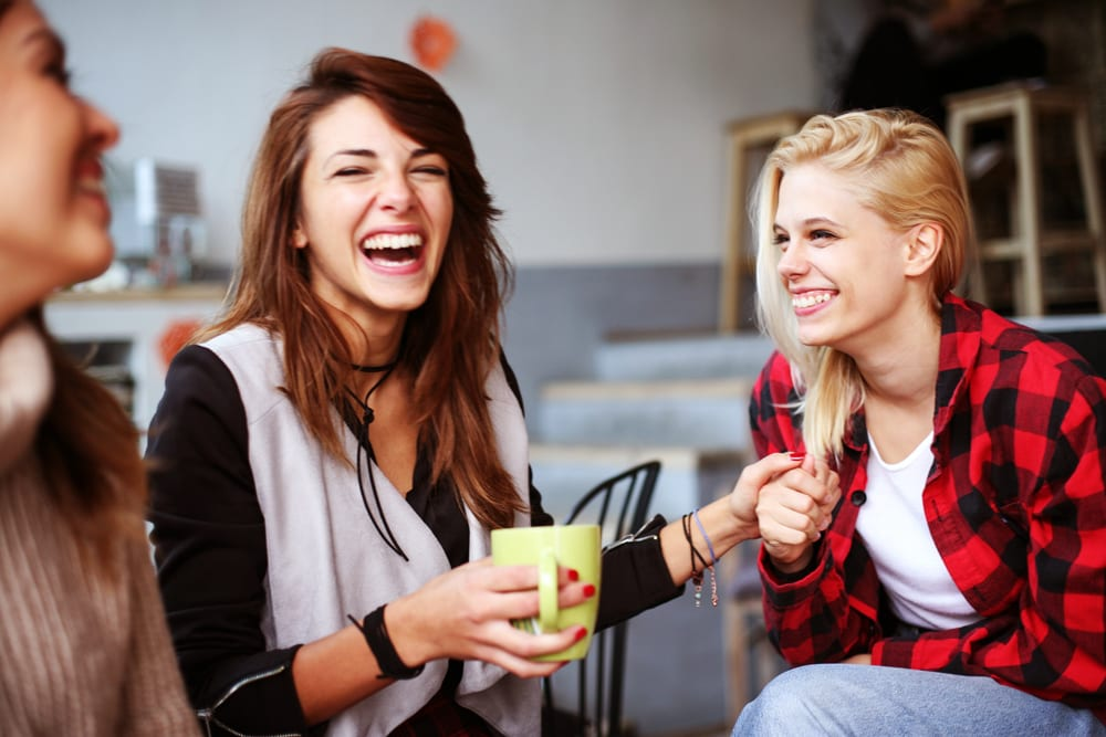Why Laughing Out Loud is Best For You: laughter relaxes and eases muscle tension