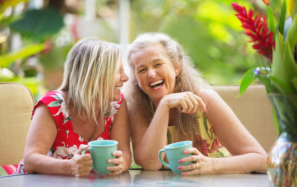 Why Laughing Out Loud is Best For You: reduces the risk of heart disease