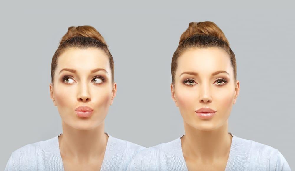 Ways to Achieve Pouty Lips - pouting exercise