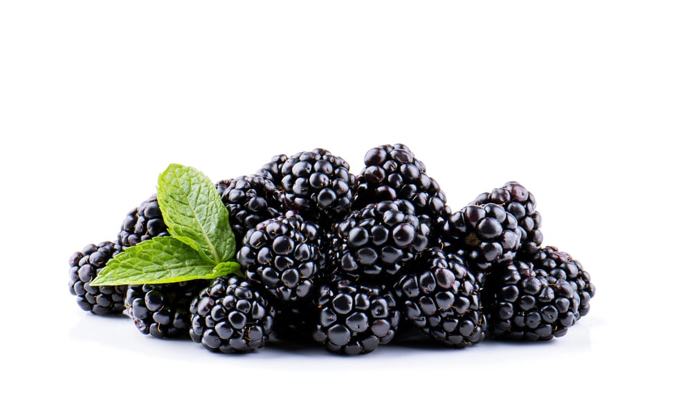 Low Sugar Fruits - blackberries