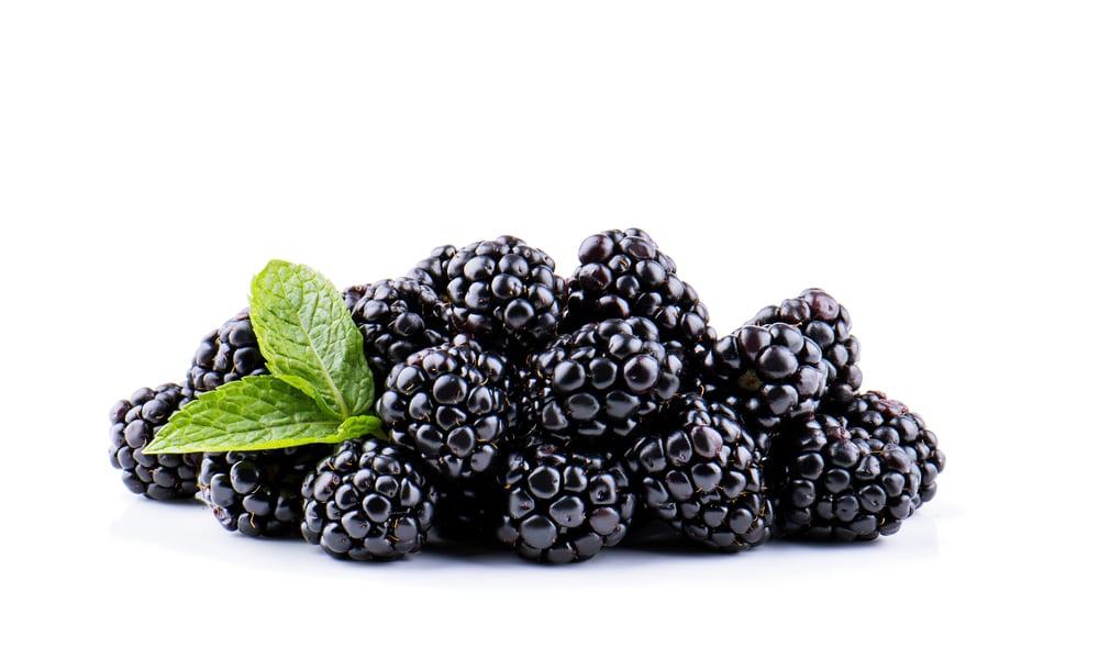 Low Sugar Fruits - blackberries
