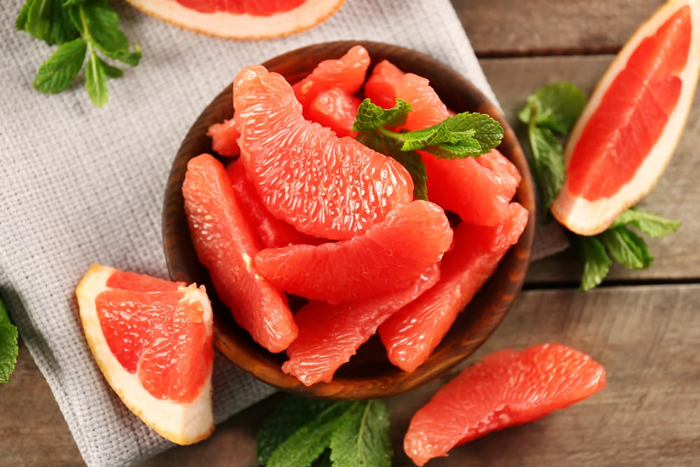 Low Sugar Fruits - grapefruit
