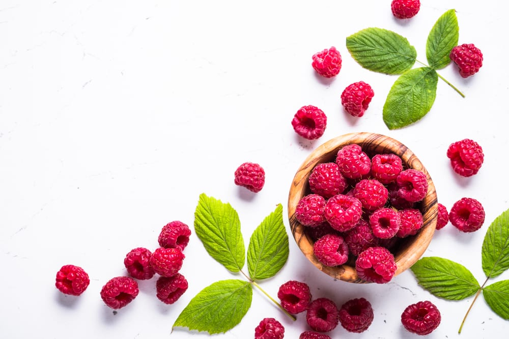 Low Sugar Fruits - raspberries