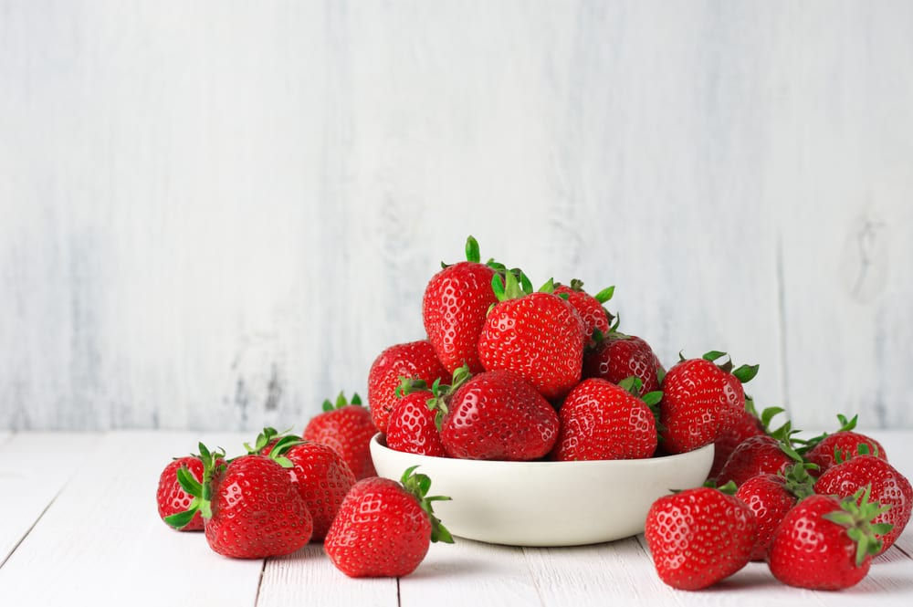 Low Sugar Fruits - strawberries