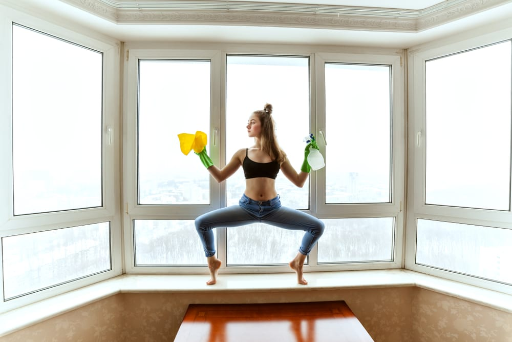 Ways to Exercise on a Busy Schedule - do the chores