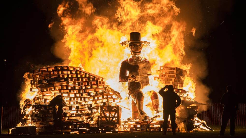 Halloween-Like Traditions - Guy Fawkes Day