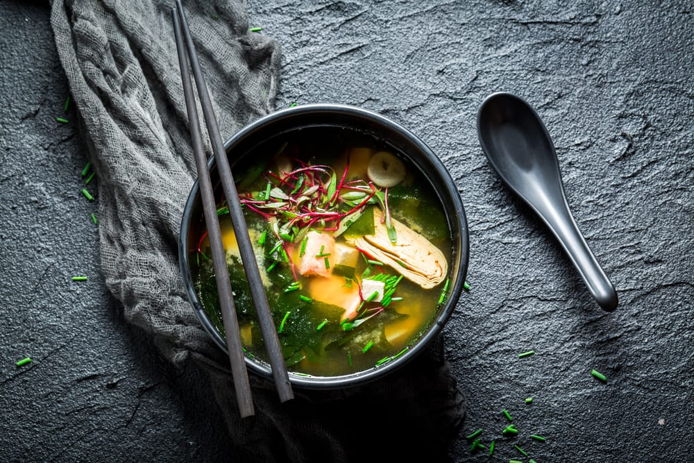 Best Traditional Food in Japan - Miso soup