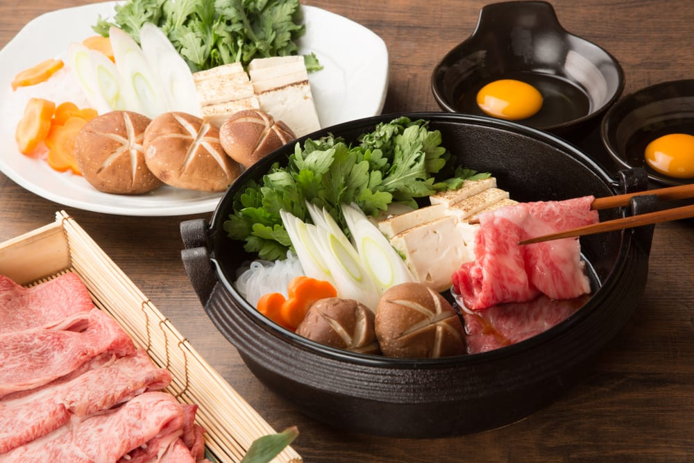 Best Traditional Food in Japan - Sukiyaki
