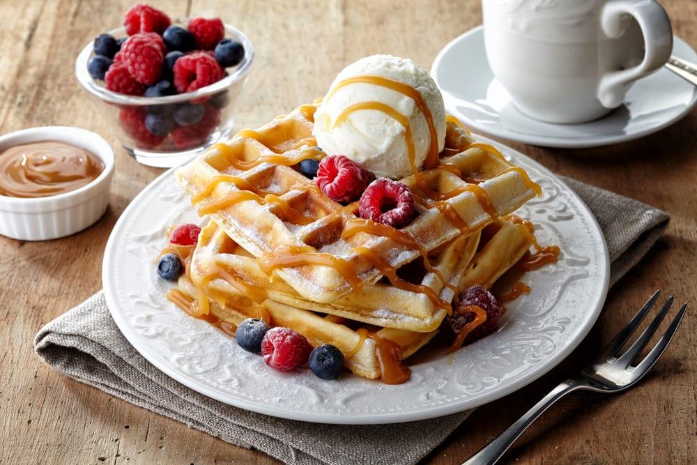 World's Best Desserts - belgian waffle
