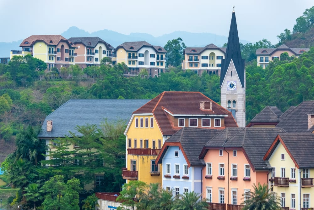 Places in China that Look Like Europe - Hallstatt in Guangdong