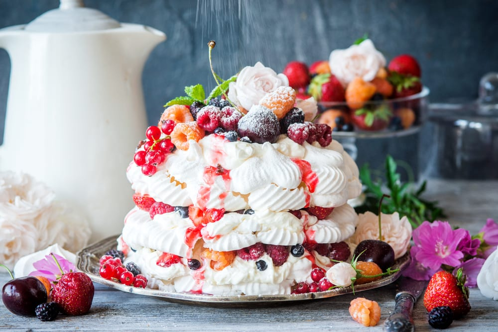 World's Best Desserts - pavlova