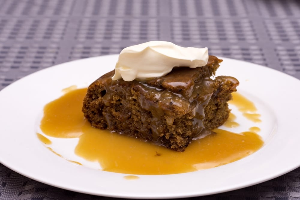 World's Best Desserts - sticky date pudding