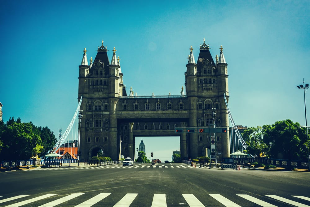 Places in China that Look Like Europe - Tower bridge of London Suzhou