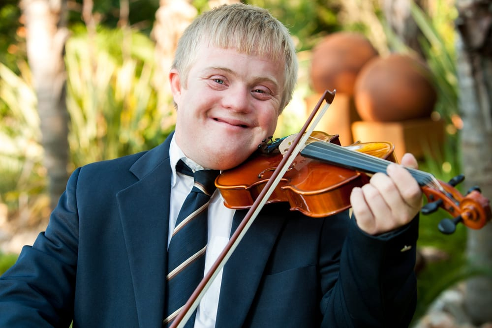 People with Down syndrome have a successful life