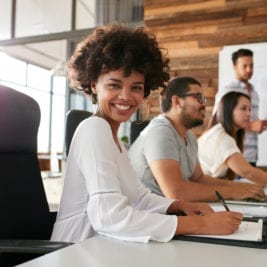Reasons why you should wear a smile - A smile increases productivity