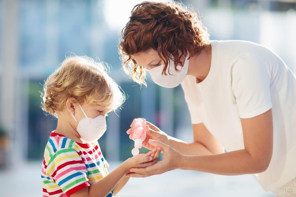 Prevent the Spread of Coronavirus - Use hand sanitizer