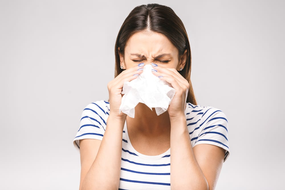 Should Not Do While Battling a Cold - Blowing nose too hard