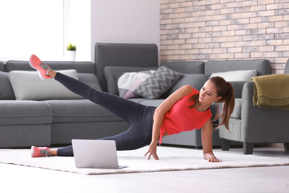 Productive Things to Do at Home - Exercise while at home