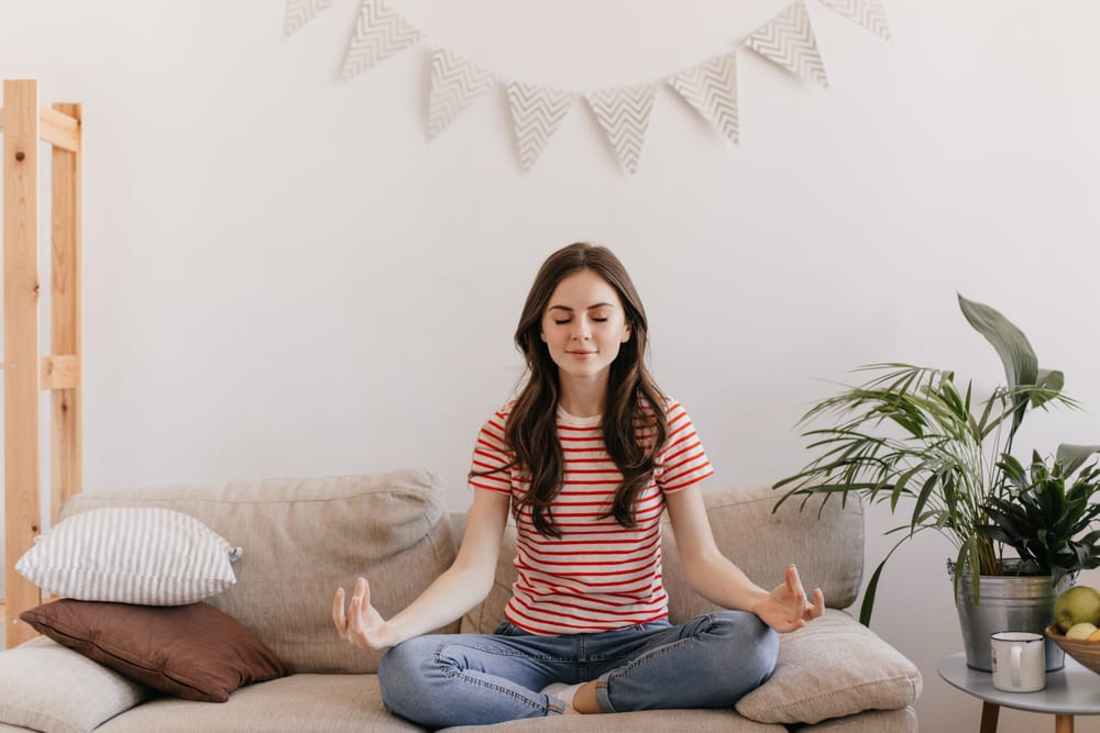 Productive Things to Do at Home - Meditate or pray