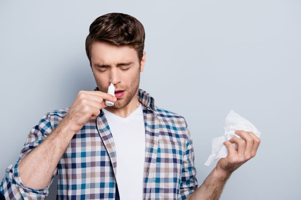 Should Not Do While Battling a Cold - using too much zinc nasal spray