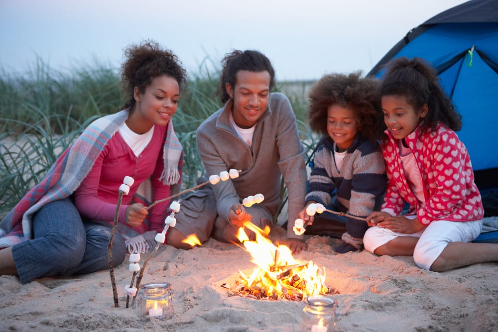 Activities for Fathers Day - Go camping