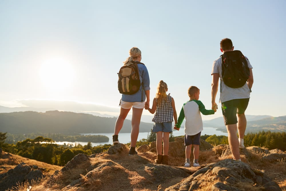 Activities for Fathers Day - Go hiking