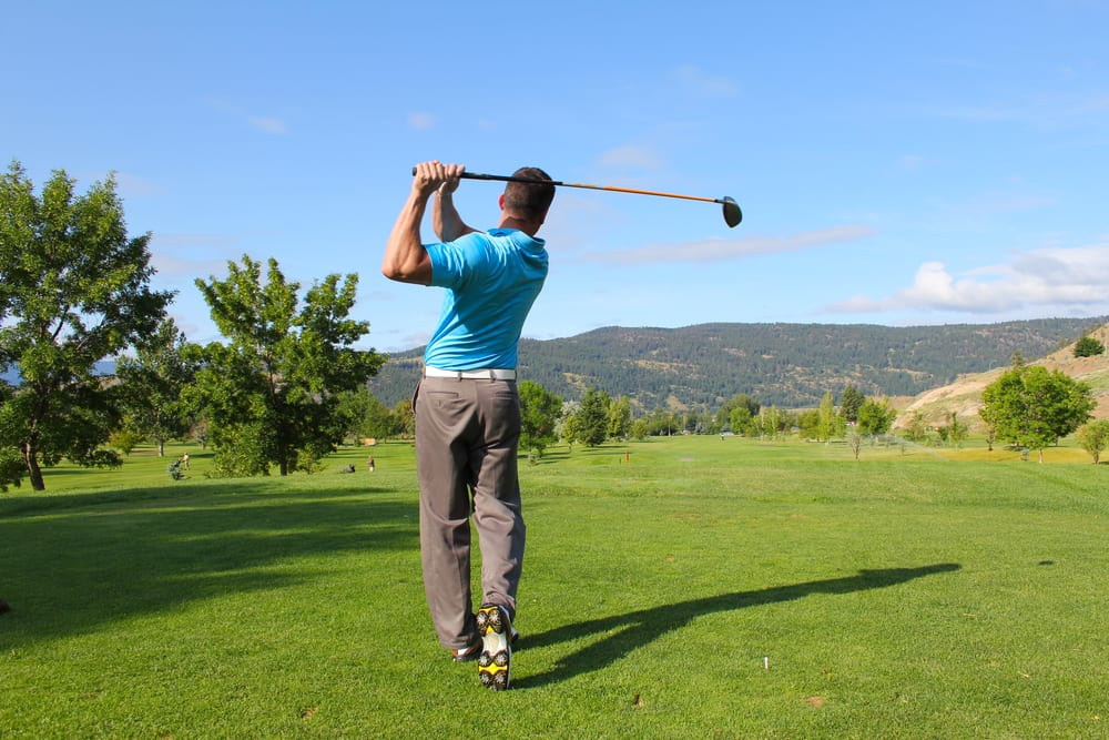 Activities for Fathers Day - Visit the golf course