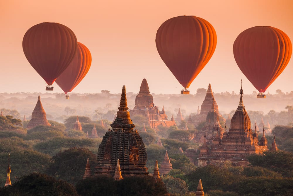 Magical Fairytale Destinations - Bagan Myanmar
