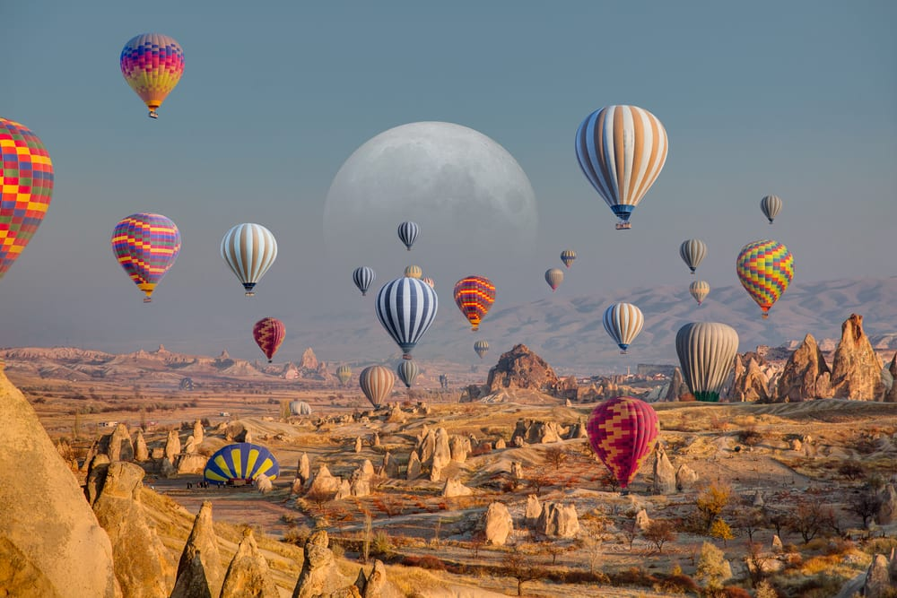 Magical Fairytale Destinations - Cappadocia Turkey