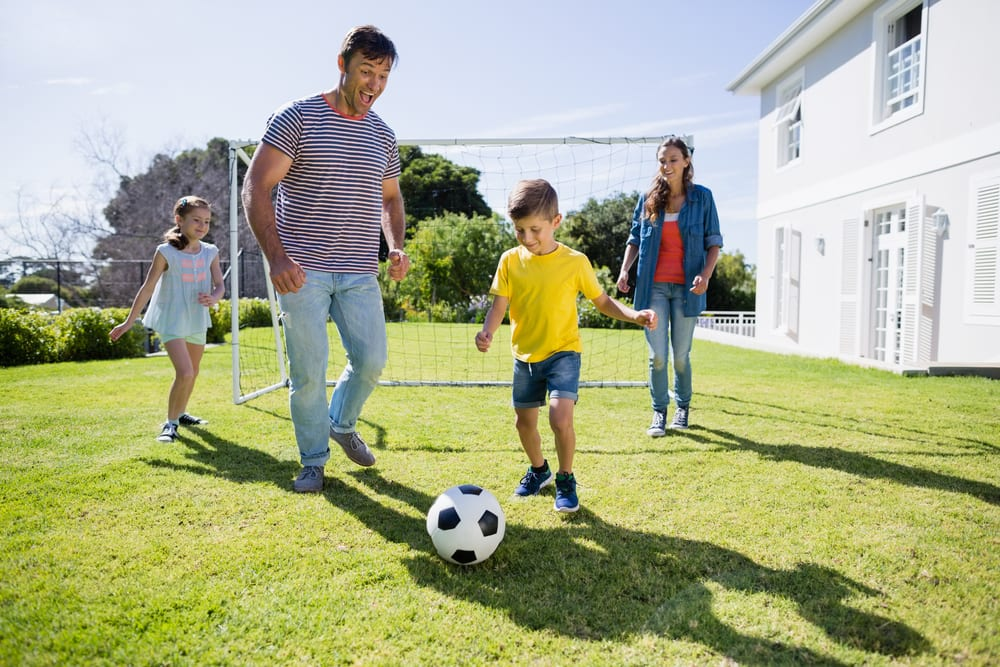 Tips for Better Family Time - Engage in Athletic Activities