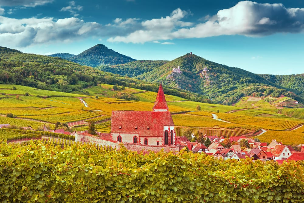 Magical Fairytale Destinations - France Alsace Wine Region