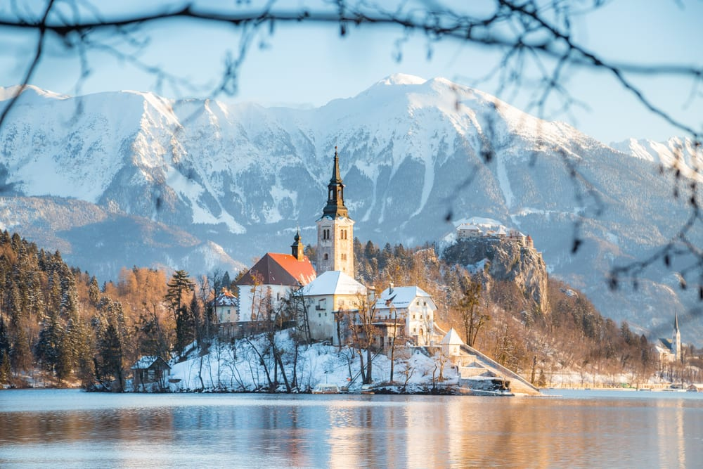 Magical Fairytale Destinations - Lake Bled Slovenia China