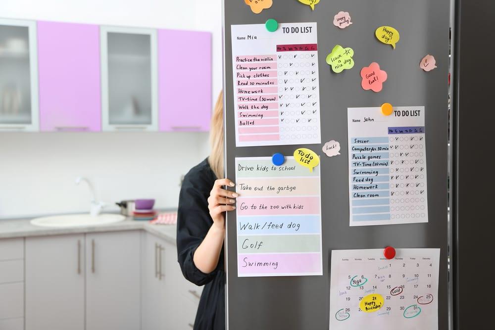 Tips for Better Family Time - Make a calendar for family time