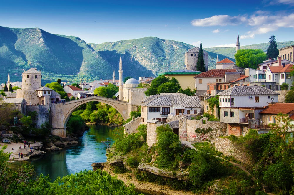 Magical Fairytale Destinations - Mostar Bosnia Herzegovina