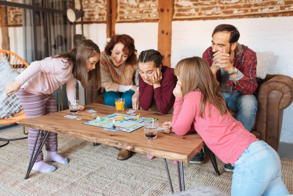 Tips for Better Family Time - Play games with your children